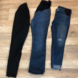 Denim - Bundle of Maternity jeans